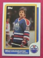 MikeKrushelynski Oilers Card