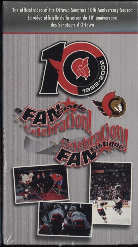 Ottawa Senators 10th Anniversary DVD cover