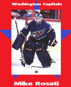 GBB - Mike Rosati - Washington Caps Card