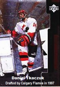 GBB - Daniel Tkaczuk - drafted by flames 1997