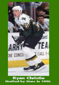 GBB - Ryan christie - drafted by stars 1996