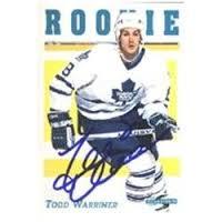 GBB - Todd Warriner - Leafs Rookie Card