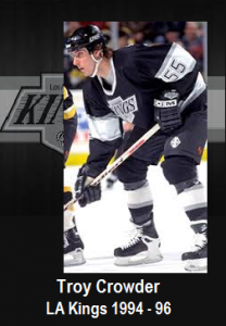 GBB - Troy Crowder - LA Kings 1994-96