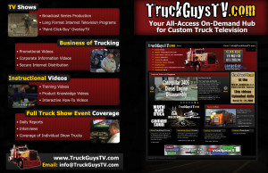 TruckGuysTV - 1 page handout