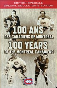 Habs100 DVD Box Cover
